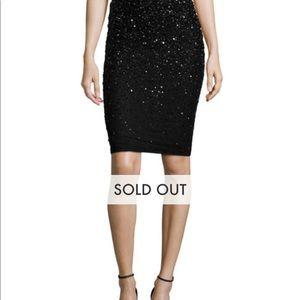 Alice + Olivia Ramos Sequin Skirt NWT
